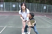 tennis court groping