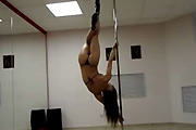 High heel pole dance