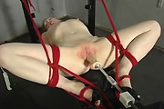 Sex Slave Forced To Cum
