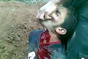 Throat Slit In Syria