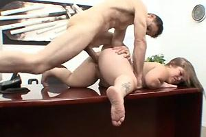 Midget Boss Office Fuck