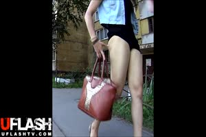 Forced Upskirt Public Sharking Teen Girls