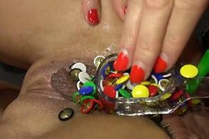 Thumbtacks Stuffed In Pussy