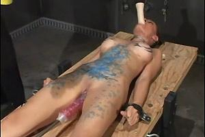 Machine Fucked And Candle Waxed
