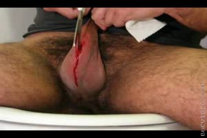 Extreme Body Modification Play