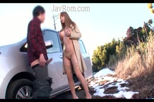 Breasts wife blow her bro outdoor