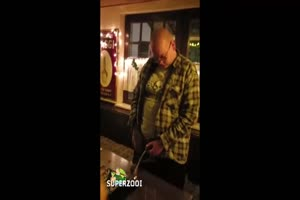Public Piss In Bar