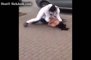 Public Knife Attack