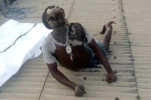 Man dies In Strange Way