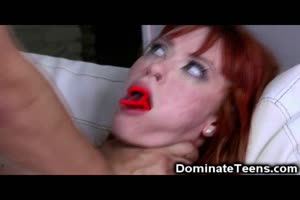 Teen Redhead Punished and Pulverized!