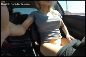 Solo Car Masturbation