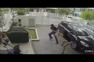 Valentine Beat Down When Girl Beat Thief