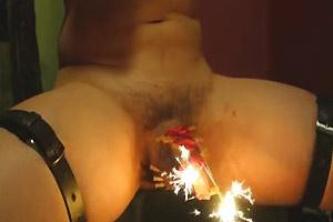 Setting Cock On Fire